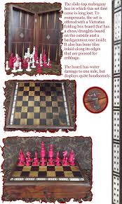 chessspy jaques 1910 20 ebay auction