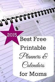 free printable mom planner 2015 best free printable planners for moms free printable planner