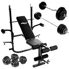 weight and bench set weight bench set with dumbbells 30 kg barbell 60 kg and ez