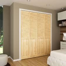 Vented Bifold Closet Doors Plantation Louvered Bifold Closet Doors