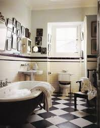 black and white bathroom decor ideas black and white tile bathroom decorating ideas black white and blue