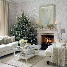 home living room interior design white and silver decor