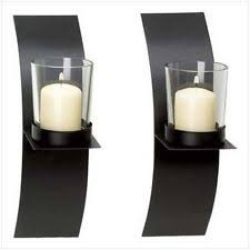 Iron Candle Wall Sconce Wall Mounted Wrought Iron Candle Sconces Ebay