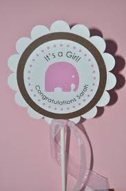 baby shower cake topper elephant theme personalized baby