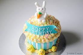 Easter Cupcake Decorations Uk by Hoppy Birthday Giant Cupcake Juniper Cakery Bespoke Cakes In