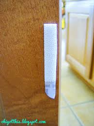 Baby Proofing Cabinet Doors Velcro Cabinet Doors Less Annoying And More Cheap Baby Proofing