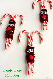 Kids Reindeer Crafts - candy cane reindeer candy cane reindeer reindeer craft and
