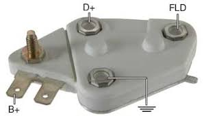 delco type alternator voltage regulators