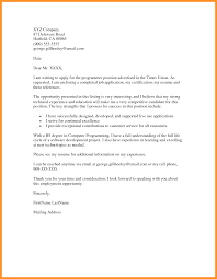 covering letter job application examples choice image cover