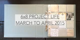 6x8 Album Project Life U2013 Jennybegoode