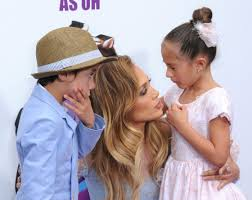 Home Jennifer Lopez by Jennifer Lopez U0027s Twins Max And Emme At Home Event Photos