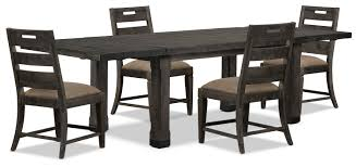 8 Pc Dining Room Set Calistoga 5 Piece Dining Package The Brick