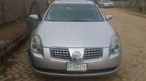 used nissan maxima neatly used honda nissan maxima 2005 for sale for n700 000 00k