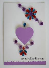 Creative Ideas To Make Greeting Cards - paper quilling cards making ideas for eid and birthday