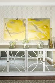 mirrored buffet cabinet contemporary dining room karen b