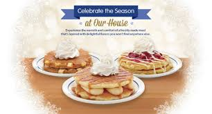 ihop s 2014 menu includes new pumpkin cheesecake pancakes