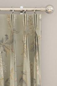 chestnut tree curtains by sanderson grey blue sage wallpaper