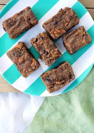 carrot cake protein bars vegan gf paleo u2014 hungry haley