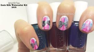 introducing essie silk watercolor kits 2016 the trendy nail