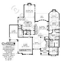 windsor park house plan house plans by garrell associates inc