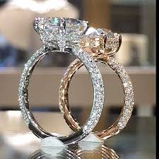 gold or silver wedding rings 1424 best the rings images on rings jewelry