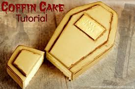 how to make a coffin how to make a coffin cake sweetie cakessweetie cakes