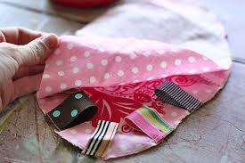baby ribbon scrap ribbon tag tutorial