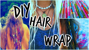 boho hair wraps diy hairwrap tutorial perkins