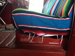 chevy truck bench seat foam bench decoration