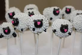 little lamb cake pops baby shower cake pops popsugar moms photo 11