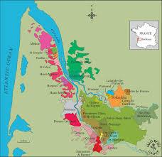 Bordeaux France Map by Chateau Le Puy U2013 Rosenthal Wine Merchant