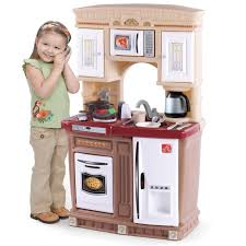 Toy Kitchen Set Wooden Interesting Kitchen Play Sets Design With Turquoise Painted Wooden