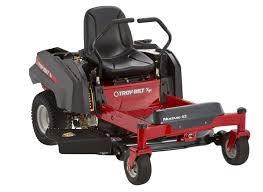 troy bilt mustang 42 lawn mower u0026 tractor consumer reports