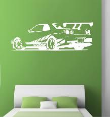 gtr skyline sports car r34 roadster wall stickers vinyl decals gtr skyline sports car r34 roadster wall stickers