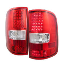 2004 f150 tail lights ford f150 2004 2008 red and clear led tail lights a103aqzz109