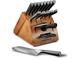 18 pc knife block set calphalon katana series u2014 buy 18 pc knife