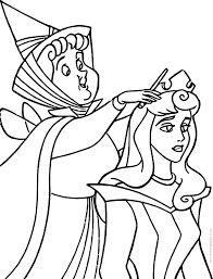 aurora flora fauna merryweather magic coloring pages