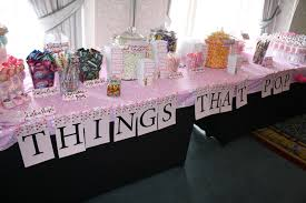 table decorations for baby shower baby shower candy table decorations archives baby shower diy