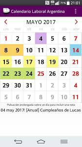 Calendario 2018 Argentina Ministerio Interior Calendario Feriados 2017 2018 Argentina Android Apps On Play