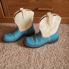 womens ariat fatbaby boots size 11 60 ariat shoes ariat fatbaby boots ostrich print womens
