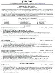 Resume Finance Consultant Sample Resume Able Seaman Resume Example Business