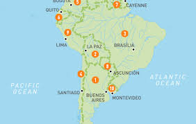 middle east map water bodies map of south america south america countries guides
