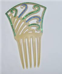 antique hair combs photo gallery