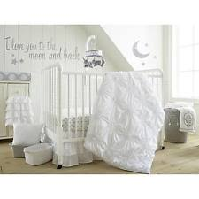 levtex baby willow 4 piece crib bumper set white model 23836803