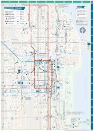 Bus Map Chicago by Randomphotos Cta