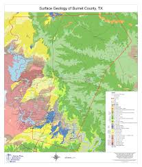 United States Radon Map by Aquifers U2013 Central Texas Groundwater Conservation District