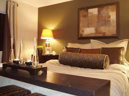 brow white wooden bedside table dark gray headboard bed dark brown