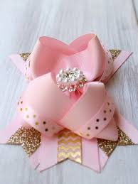 how to make baby hair bows 2089 best hairbows images on hairbows crowns and