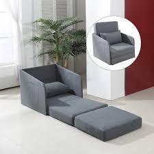 Single Sofa Bed Chair Homcom Foldable Lazy Floor Sofa Bed Chair Adjustable Lounger Dorm