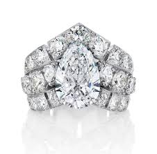 Big Wedding Rings by Big Engagement Rings The Sky U0027s The Limit With These Incredible